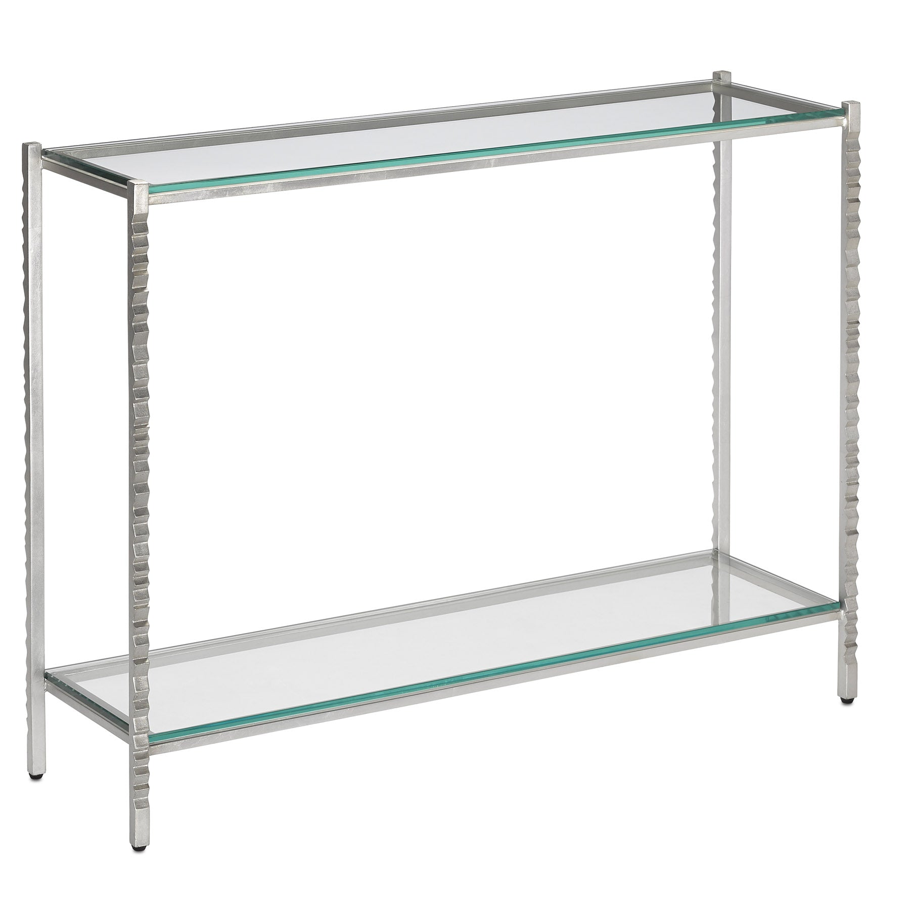 Logan Silver Console Table