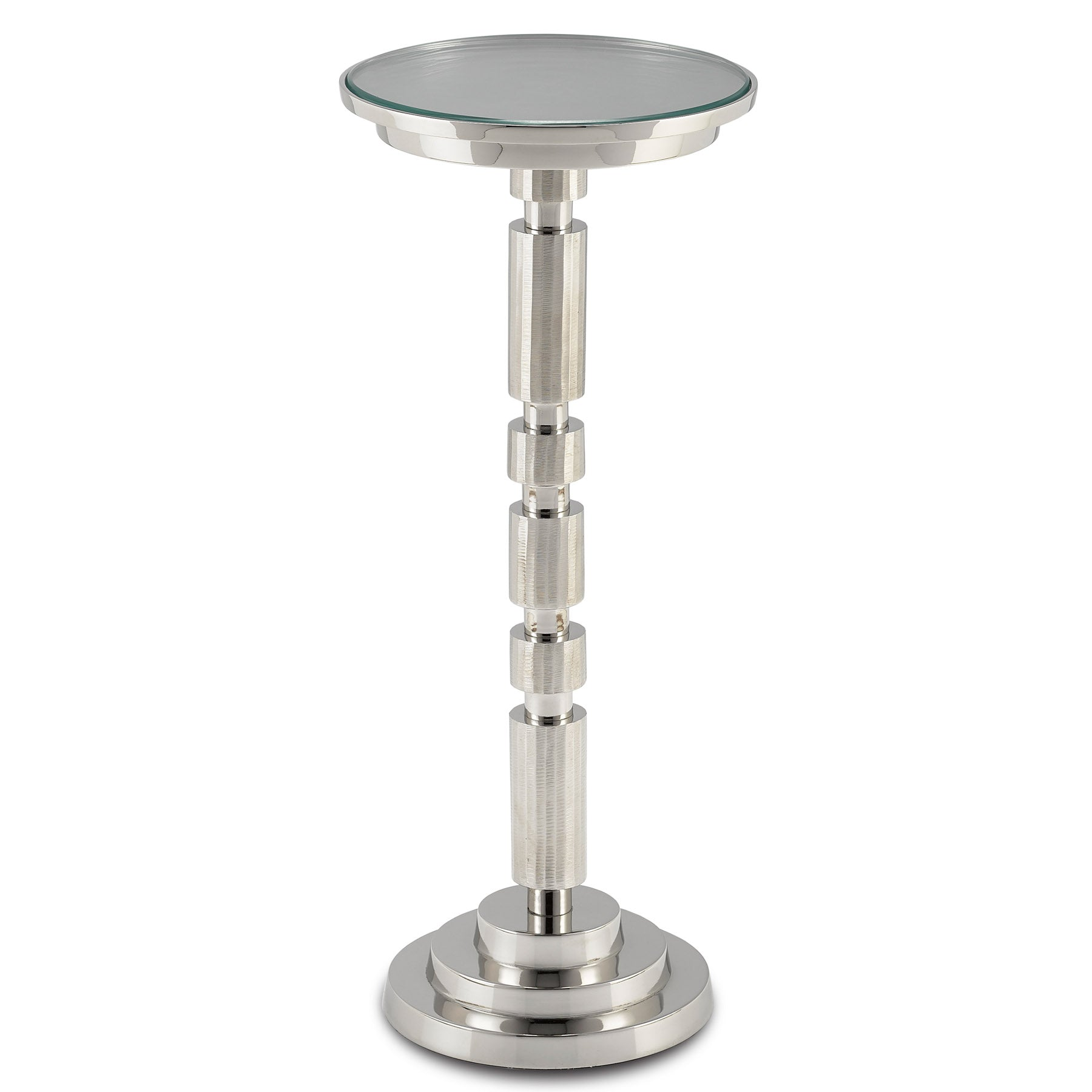 Para Silver Drinks Table
