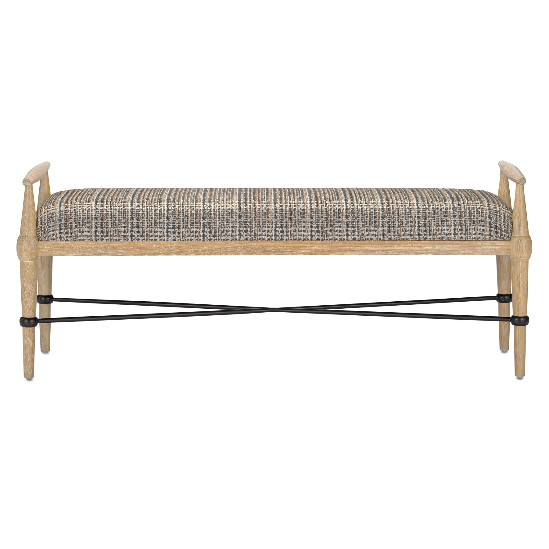 Perrin Tweed Natural Bench