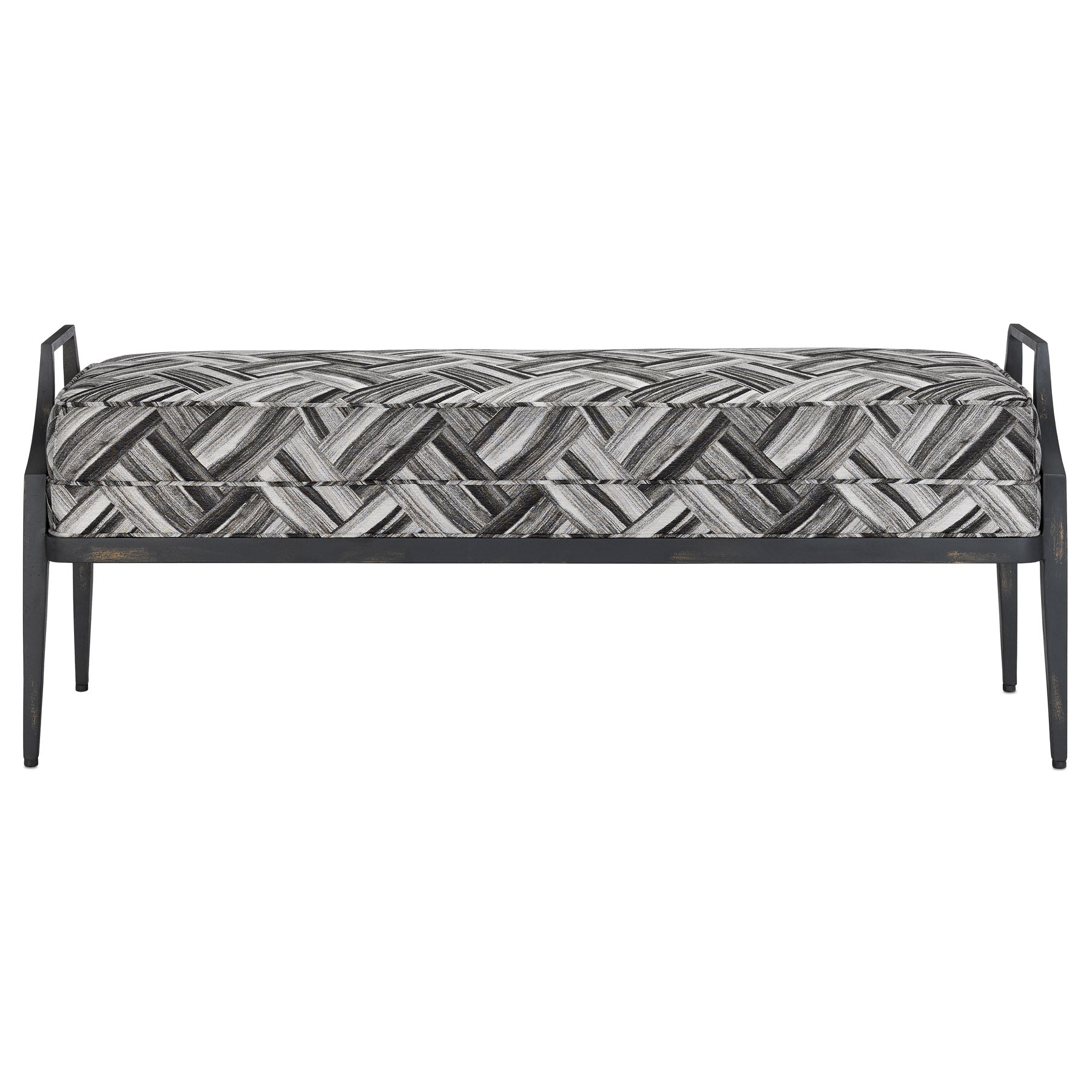 Torrey Domino Black Bench