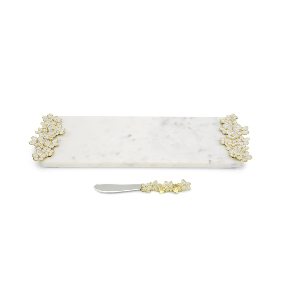 Cherry Blossom Small Cheese Board w/ Knife