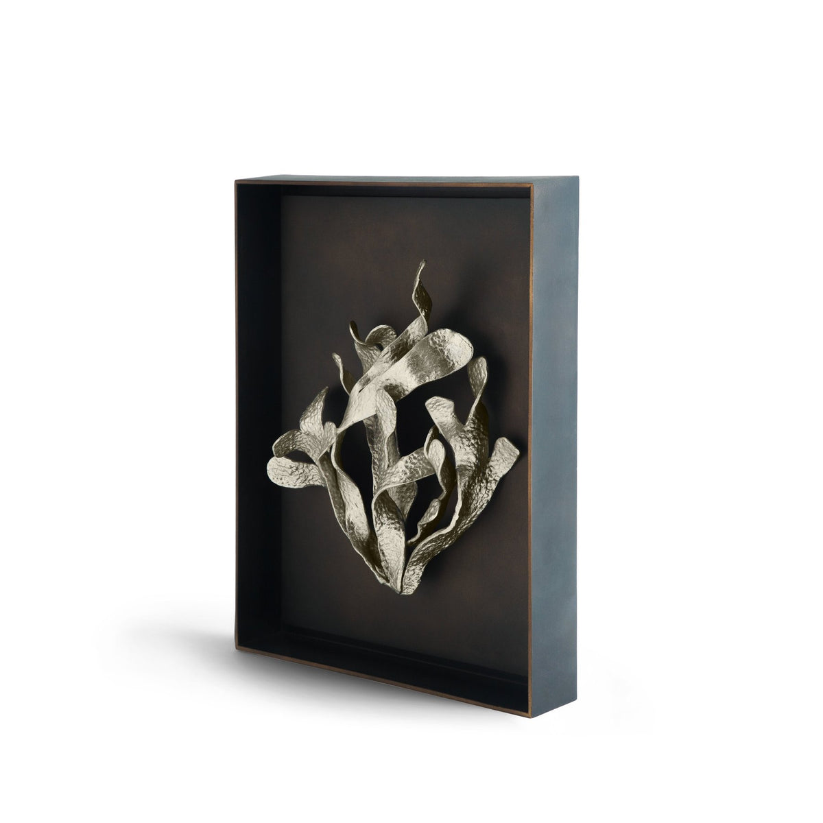 Kelp Shadow Box Antique Nickel