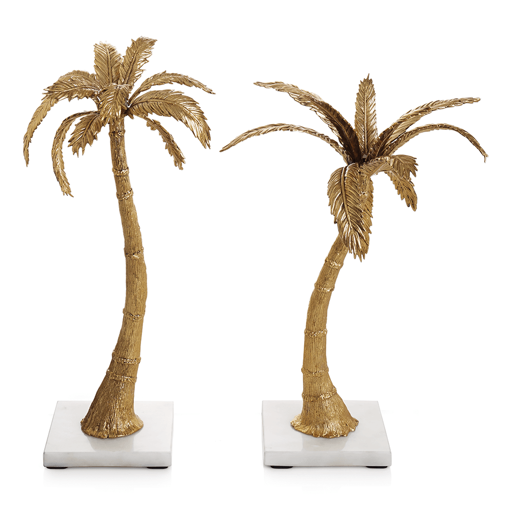 Palm Candleholders