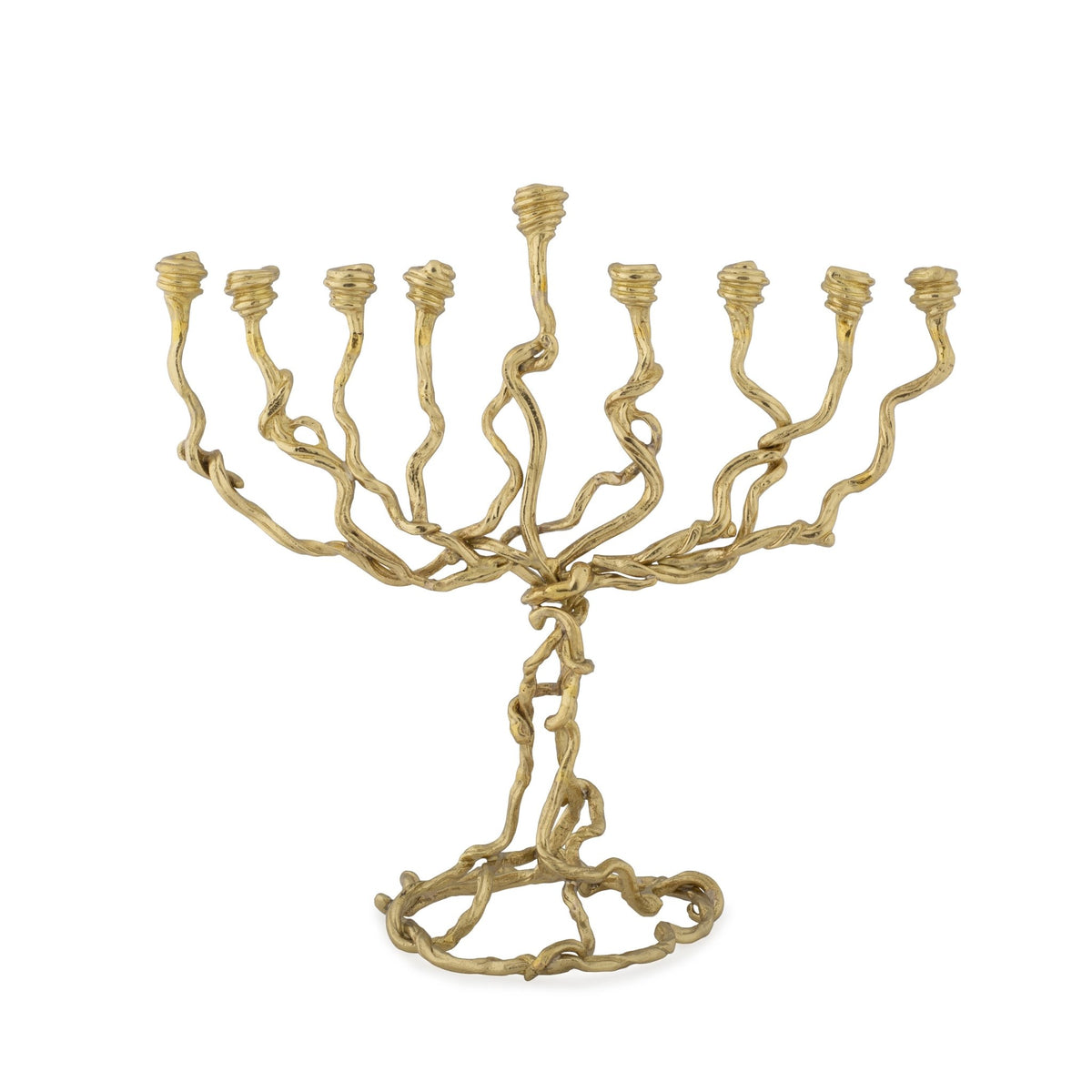 Wisteria Gold Menorah