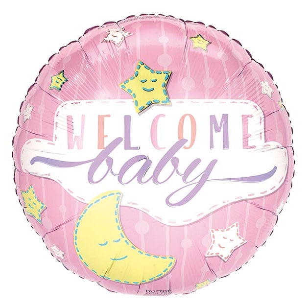 Welcome Baby Boy foil balloon
