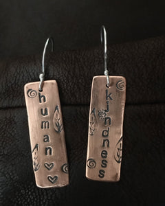 Human Kindness Earrings