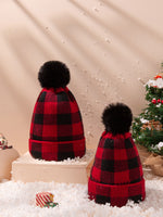 Mommy & Me (Toddler) Plaid Hats