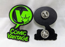 Load image into Gallery viewer, Comic Vantage Enamel Pin