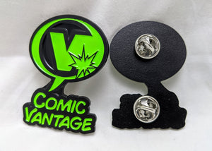 Comic Vantage Enamel Pin