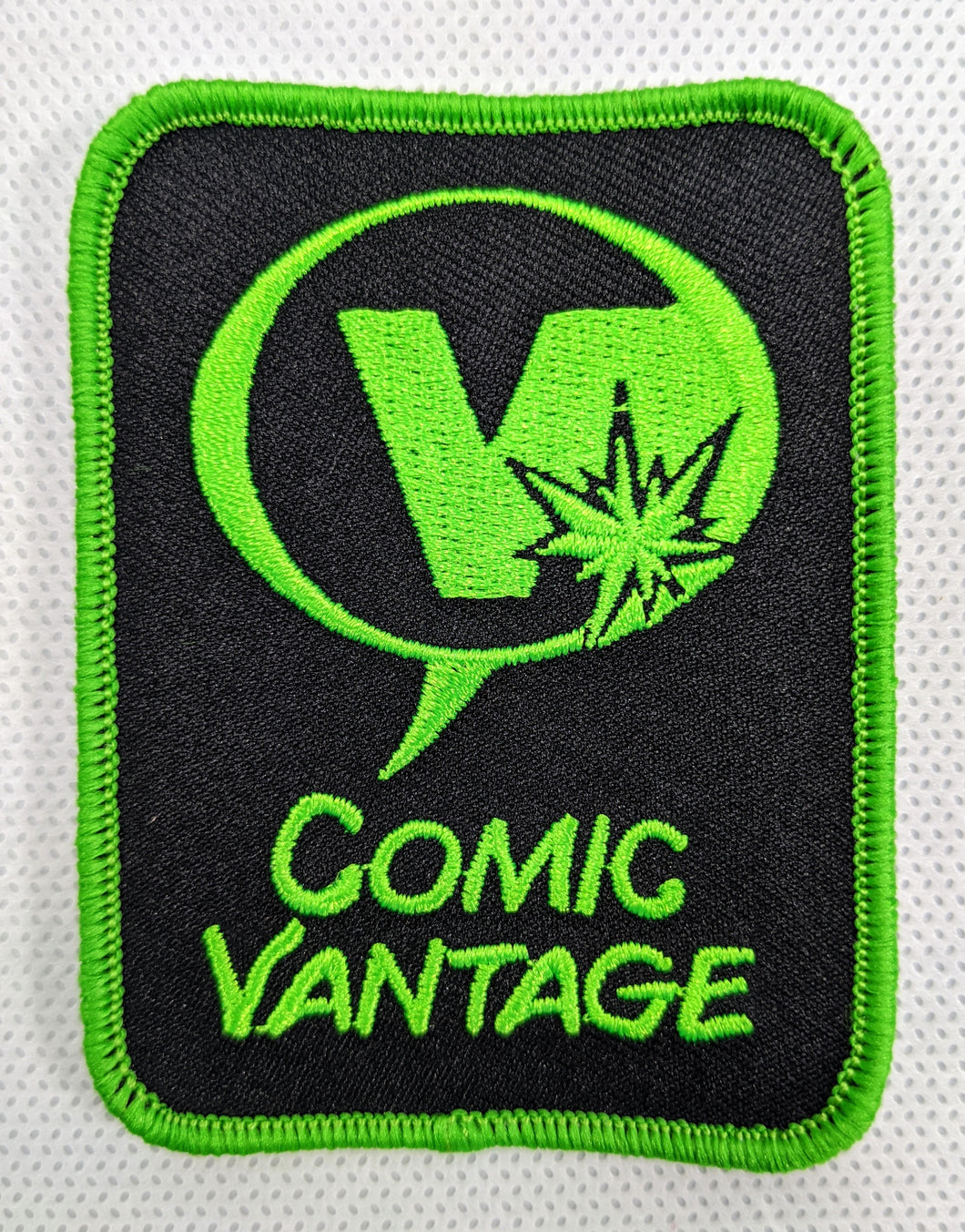 Comic Vantage Iron On Patch