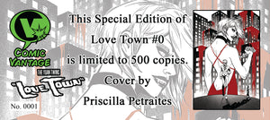 Love Town 0 Special Edition Comic Vantage Exclusive