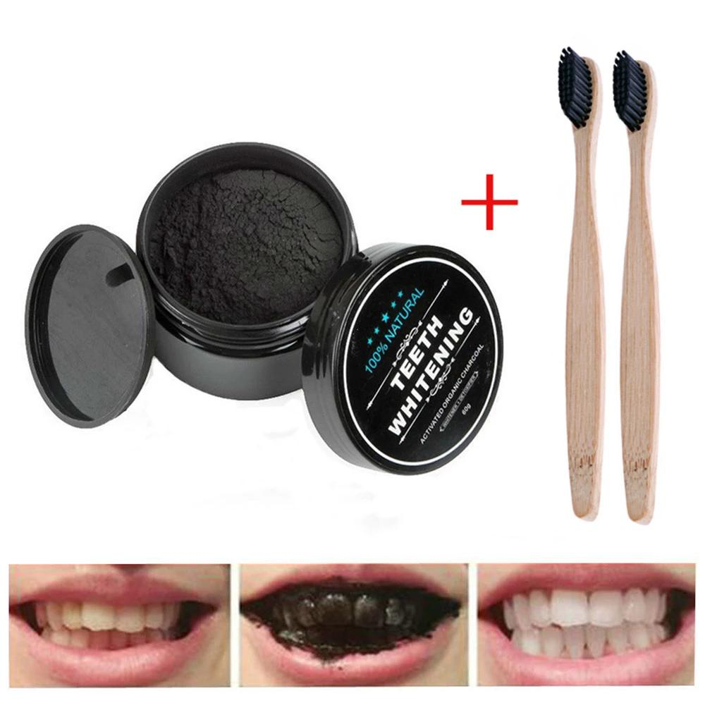 Natural Oral Care Activated Charcoal Dental Teeth Whitening Powder
