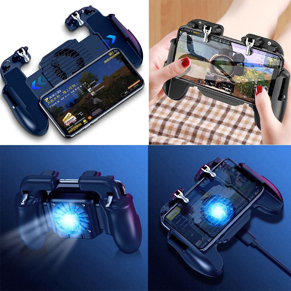 Pubg Mobile Gamepad Controller Phone Free Fire Buttons Joystick with Cooling Fan