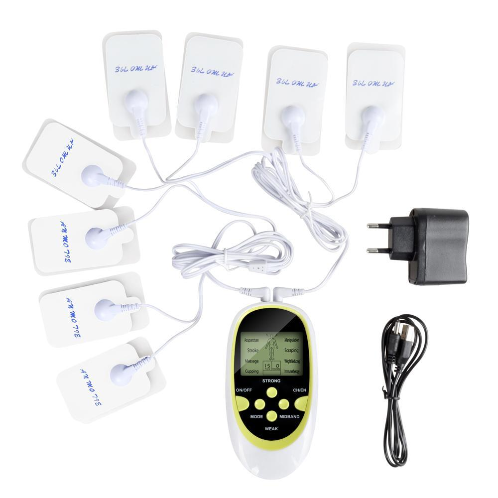 Full Body Therapy Massager Electrical Stimulator With Dual-Output