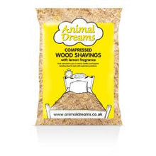 Load image into Gallery viewer, Compressed Wood Shavings - Lemon Scented