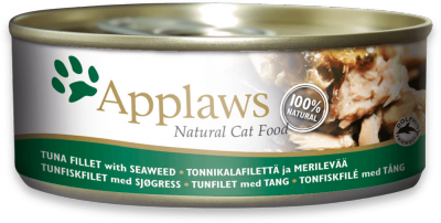 Applaws Tuna Fillet & Seaweed Can