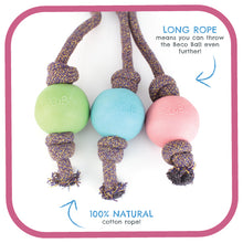 Load image into Gallery viewer, Beco Natural Rubber Ball on Rope