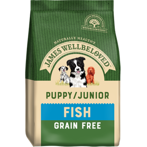 James Wellbeloved Puppy/Junior Grain Free Fish
