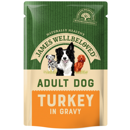 James Wellbeloved Adult Turkey Pouch