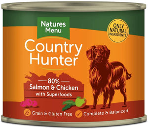 Country Hunter Salmon & Chicken Can