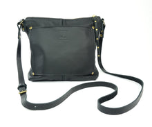 Load image into Gallery viewer, Small Crossbody Purse in Black Leather
