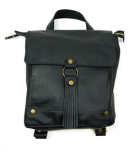 Load image into Gallery viewer, Leather Convertible Backpack