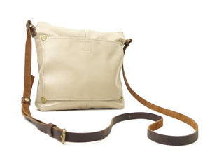 Small Crossbody Purse in Taupe