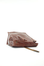 Load image into Gallery viewer, Chestnut Brown Leather Lunch Bag