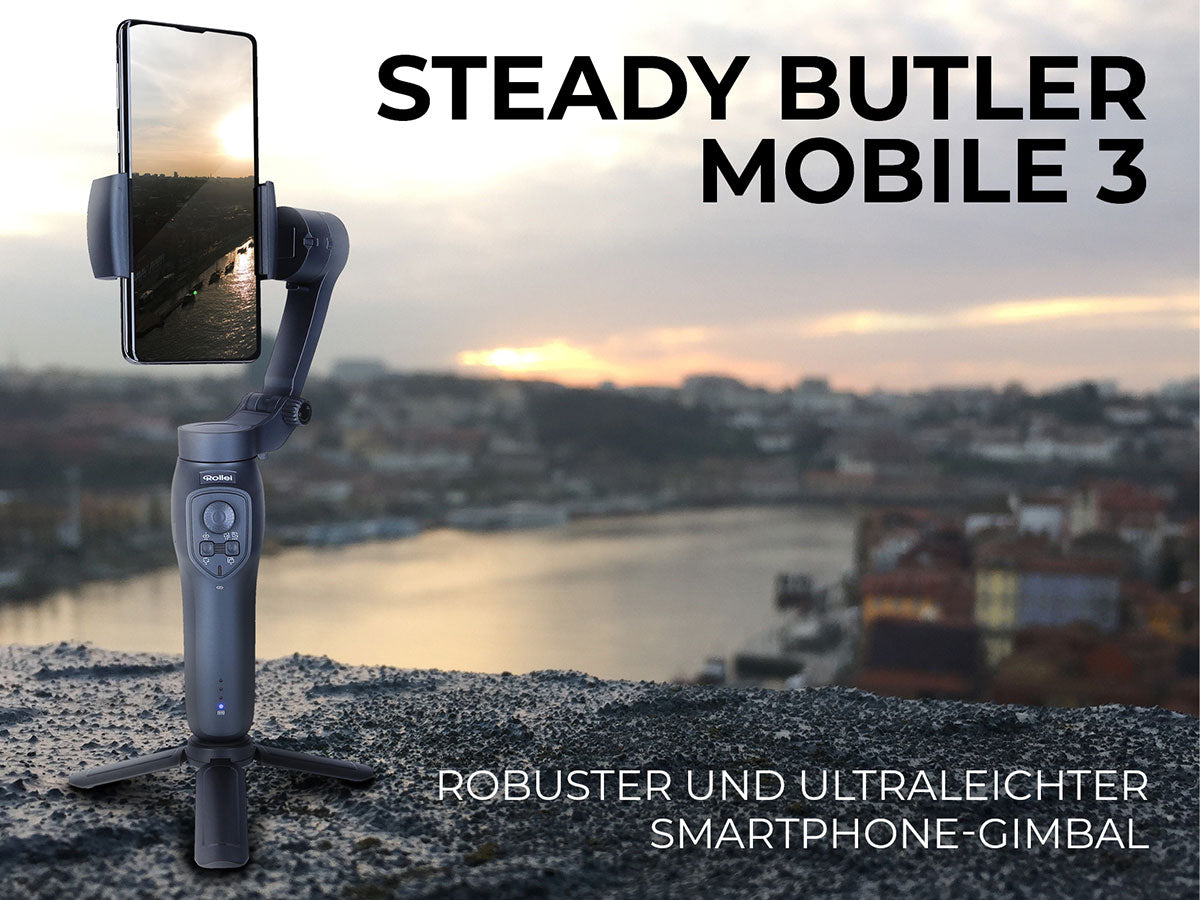 Steady Butler Mobile 3 - Smartphone-Gimbal von Rollei