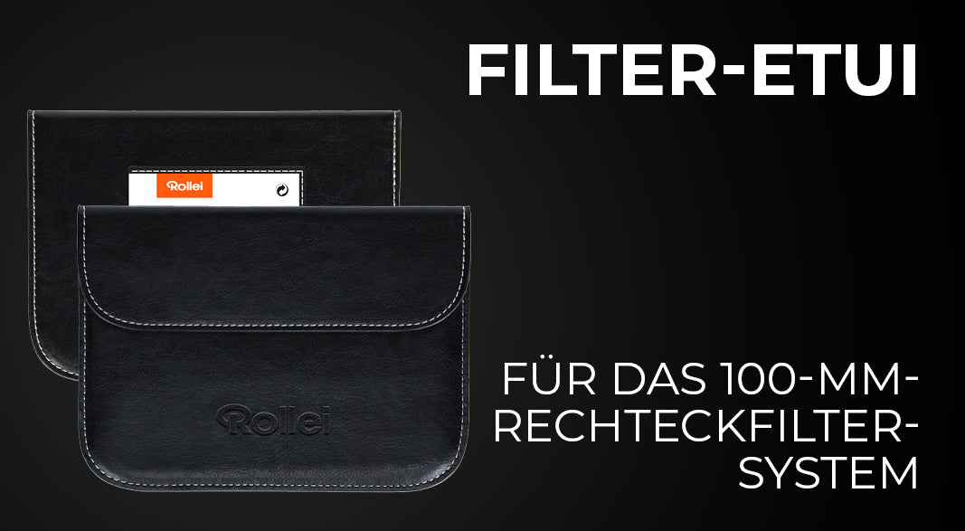 Filter case for 100 mm square filters from Rollei