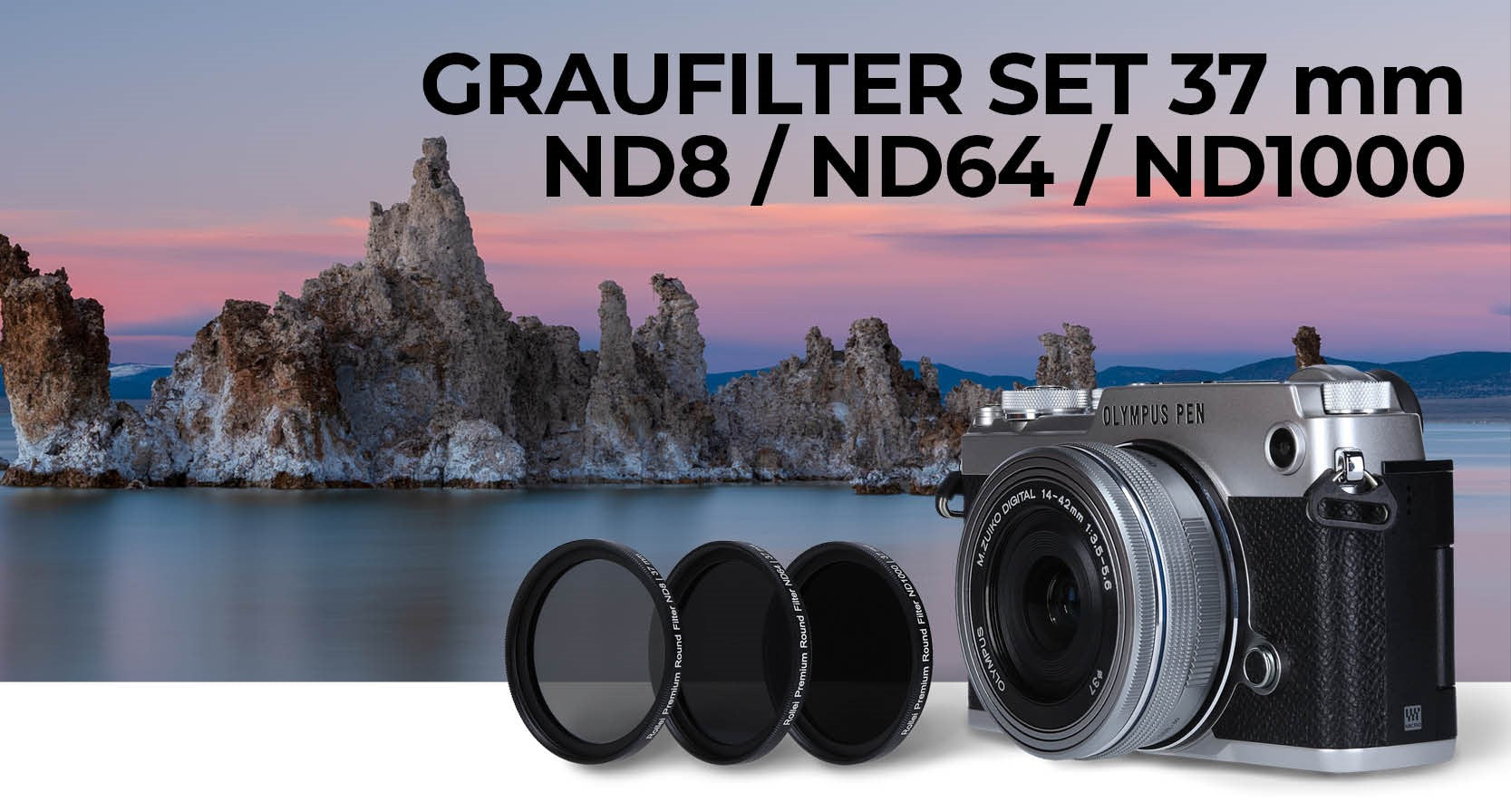Graufilter-Set 37mm