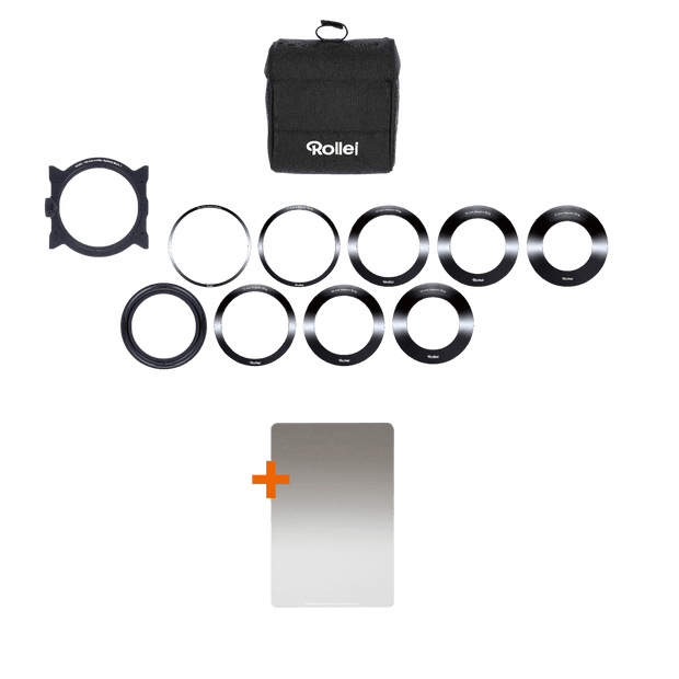 Rollei Filter Starter Kit Rechteckfilter Mark II 100 mm