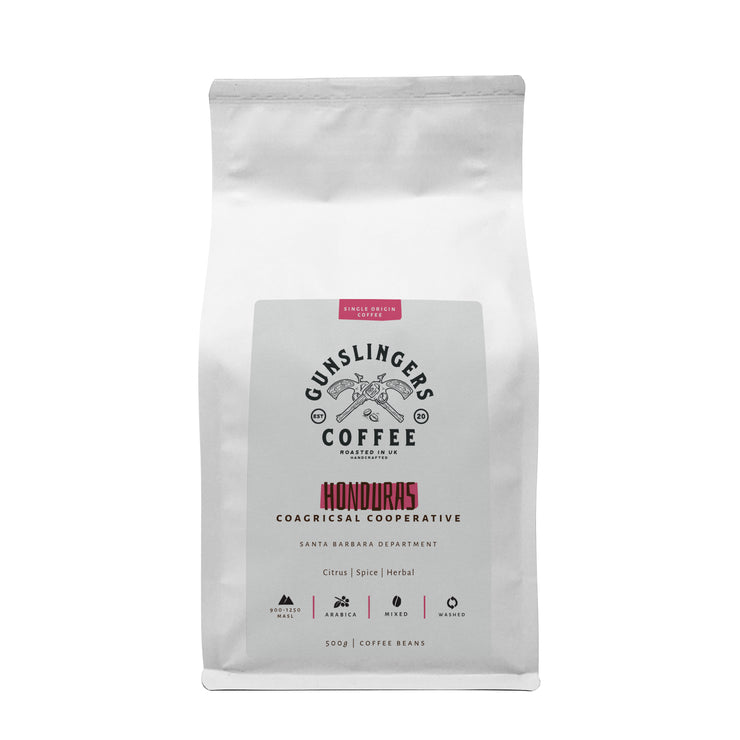 Gunslingers Best Single Origin Arabica Whole Beans Coffee UK