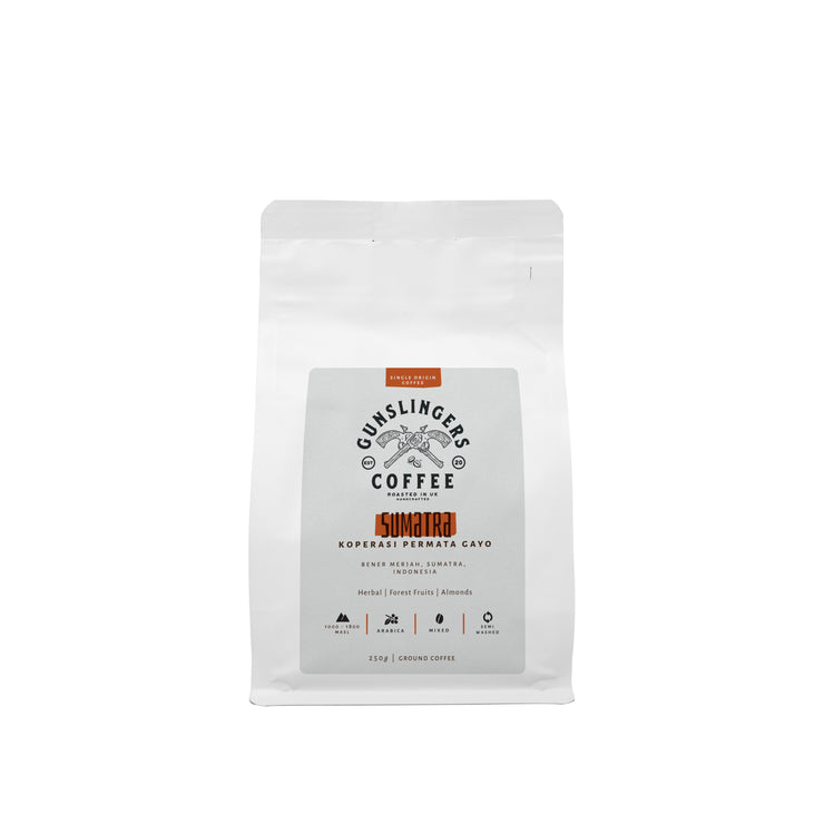 Sumatra Single Origin Arabica Ground Coffee