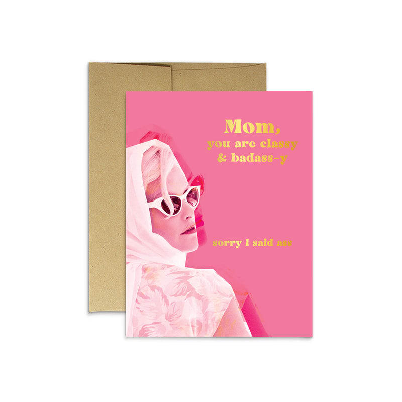 Badass Mom Card