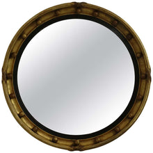 Load image into Gallery viewer, Antique Gilt Regency Convex Mirror