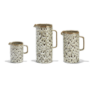 Speckled Brown Pitcher, Small
