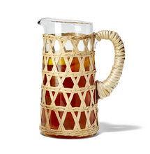Load image into Gallery viewer, Hand Woven Lattice Pitcher