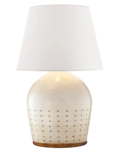 Ceramic Table Lamp (Lamp Shade Separate)