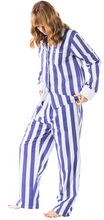 Load image into Gallery viewer, Womens Braddock Collection PJ Set in Blue