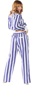Womens Braddock Collection PJ Set in Blue