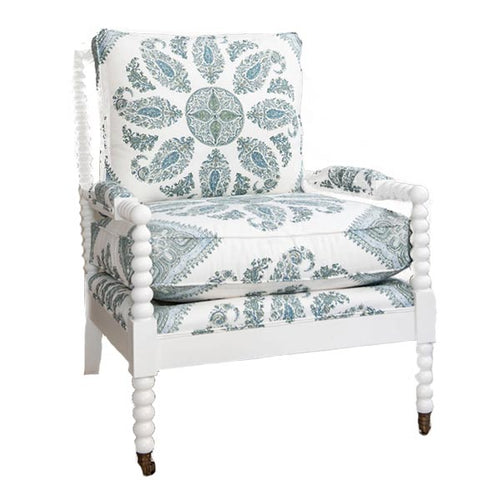 Beachwood Chair in Custom Samarkand Fabric