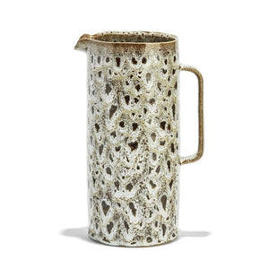 Speckled Brown Pitcher, Large