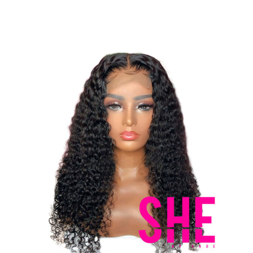 5x5 DEEP CURLY CLOSURE WIG