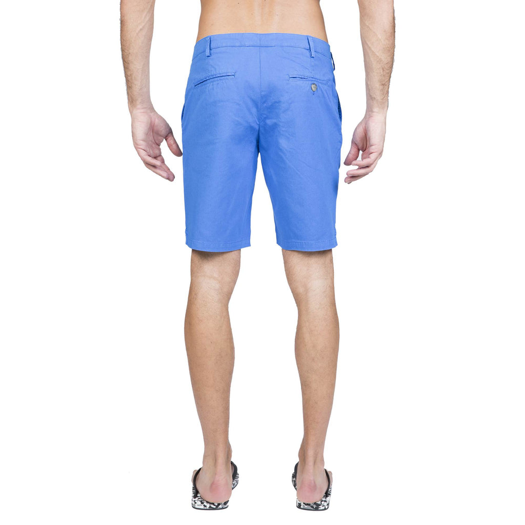 MID-LENGTH COTTON STRETCH WALKING SHORT