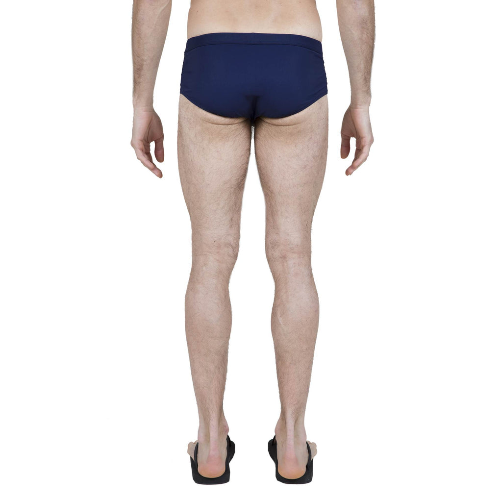 NAVY LYCRA BRIEF