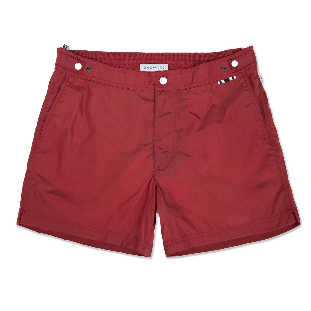 RASPBERRY TAILORED SWIM SHORT