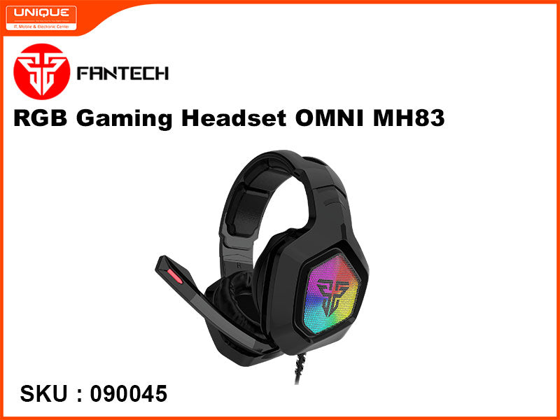 FANTECH OMNI MH83 Black RGB Gaming Headset