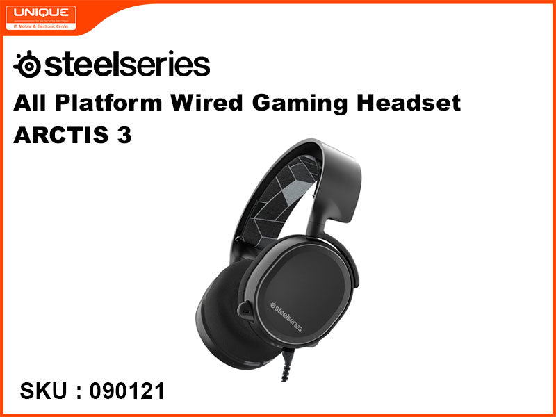 Steelseries ARCTIS 3 Black All Platform Wired Gaming Headset
