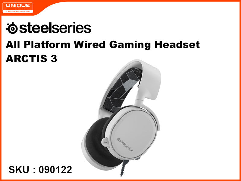 Steelseries ARCTIS 3 White All Platform Wired Gaming Headset